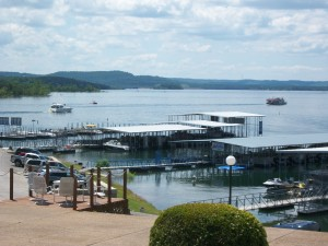View of Table Rock Lake from Rock Lane Marina