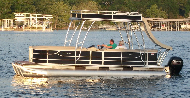 Double Decker Pontoon with Slide